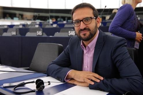 Sergio Gutierrez, miembro español en el parlamento europeo.